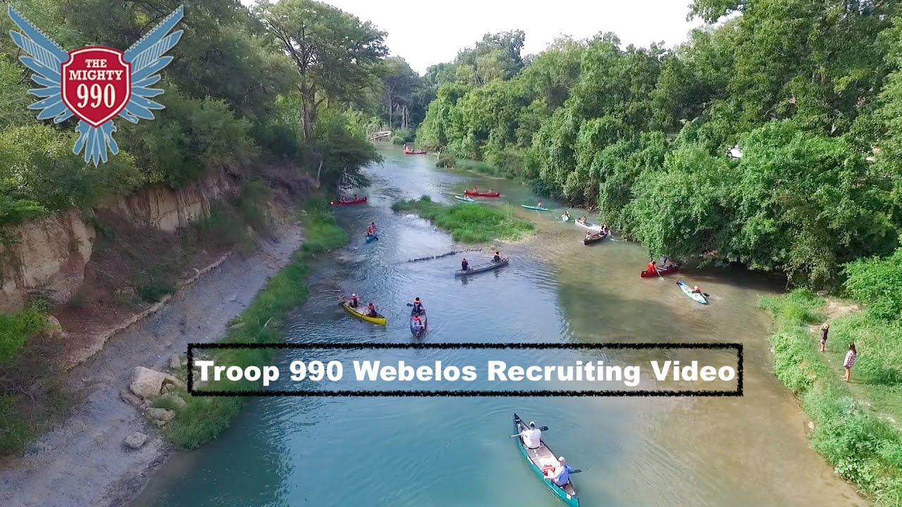 Troop 990 Webelos Recruiting Video