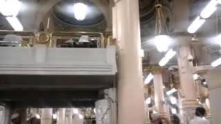 MashaALLAH Azan Subuh (22-03-2016)di Masjid An Nabawi Assharif, Madinah Al Munawwarah.