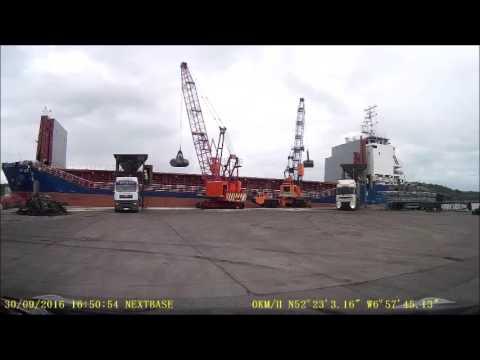 Unloading a Ship