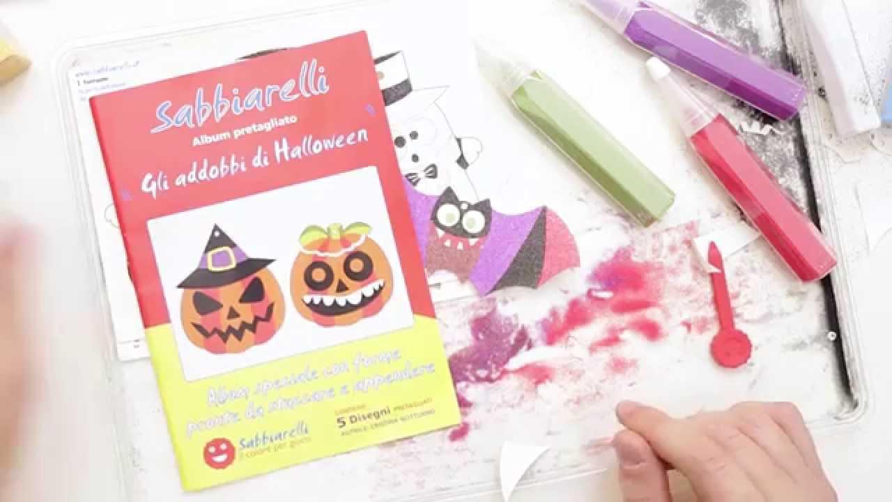 Album Halloween Sabbiarelli