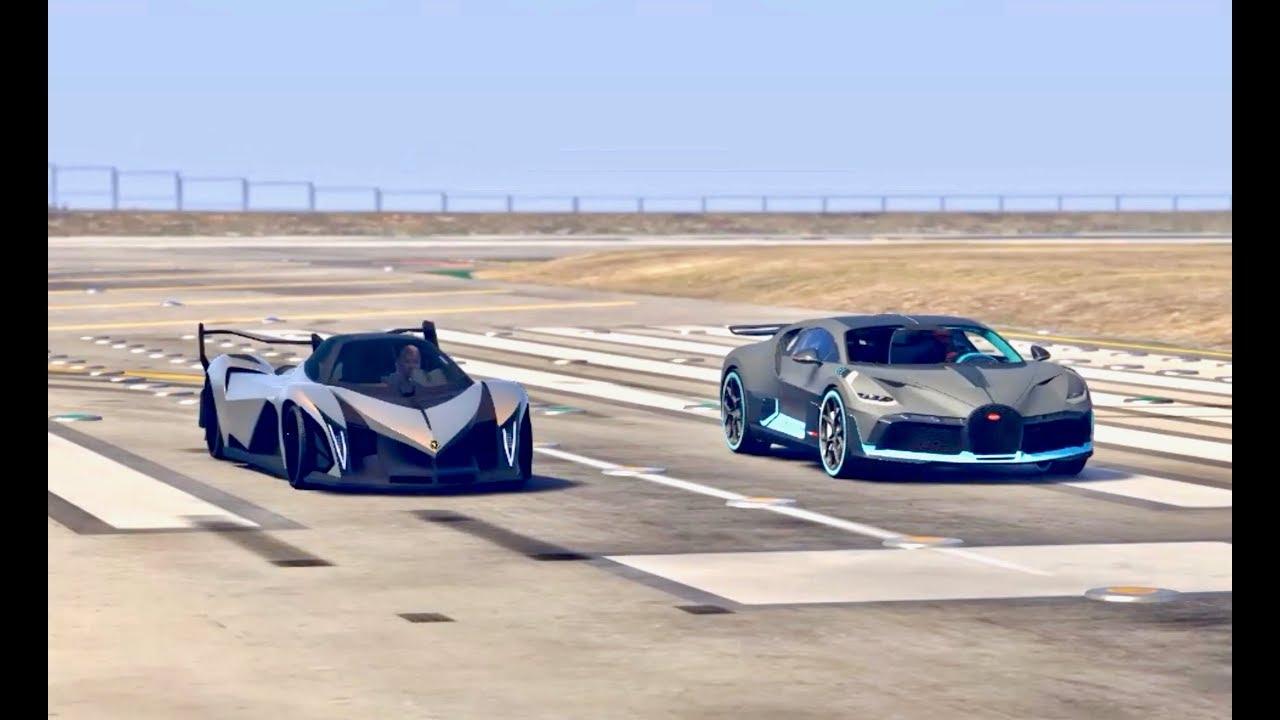 Koenigsegg Jesko Vs Bugatti Divo Golfclub