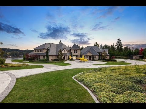 French Chateau Inspired Carriage House in Gig Harbor, Washington