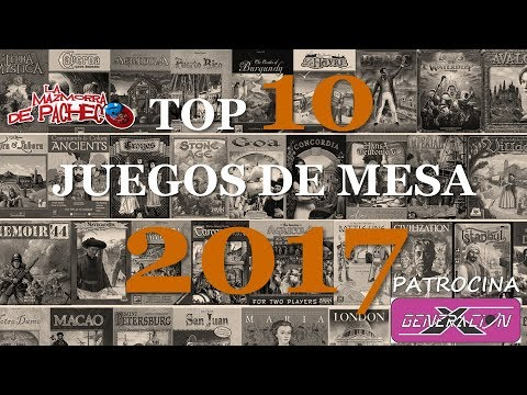 Top 10 Juegos De Mesa De 2017 Youtube