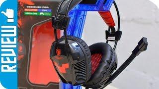Sades Xpower: Auriculares gaming cómodos baratos y con un gran micrófono