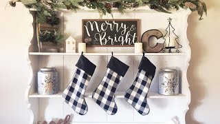 FARMHOUSE CHRISTMAS DECOR | CHRISTMAS HOUSE TOUR 2018