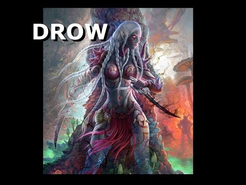 TMG: Monster Ecology: The Drow