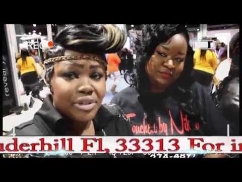 Creative Touch Hair Salon  invades Bronners Brothers 2015
