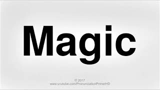 How To Pronounce Magic | Halloween Special Playlist | Pronunciation Primer HD
