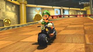 Video Wii U - Mario Kart 8 - (DS) Tick-Tock Clock download MP3, 3GP, MP4, WEBM, AVI, FLV Oktober 2018
