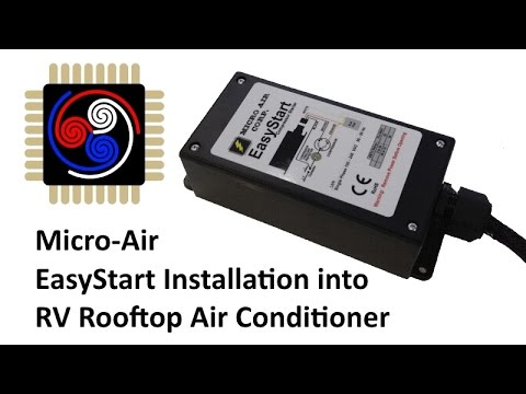 micro-air easystart soft starter installation into rv rooftop air  conditioner