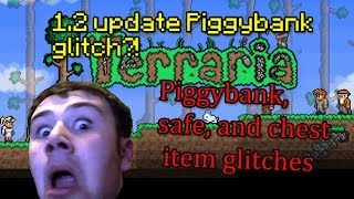 Terraria Xbox/PS3 1.2 Piggy bank/Safe Glitch Xbox 360 (PATCHED)