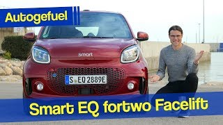 2020 Smart fortwo EQ REVIEW new Facelift EV only - Autogefuel