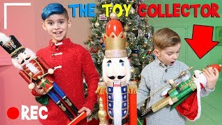 Who is the Toy Collector? We came home from visiting Santa and foun...