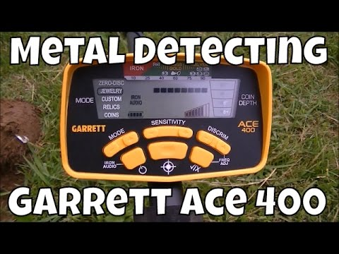 Metal Detecting with NEW Garrett Ace 400 Metal Detector! | JD's Variety Channel 2016