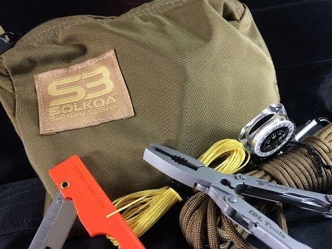 Survival Kit Meets Navy SEAL Specs: Suma Professional Personal Survival Kit