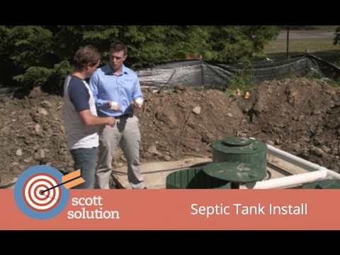 Scott Solution - Installing a Septic Tank with Waterloo Biofilter