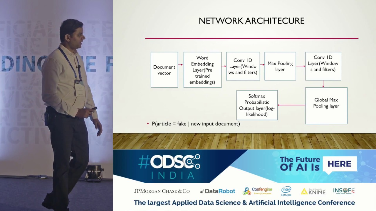 Detection & Classification of Fake news using Convolutional Neural Nets by  Venkat J at #ODSC_India