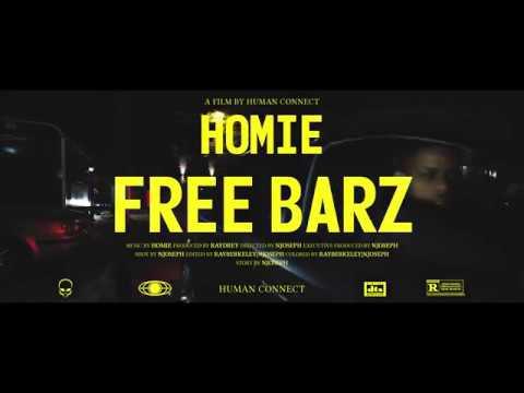 HOMIE - FREE BARZ  (PROD  RAYDREY)