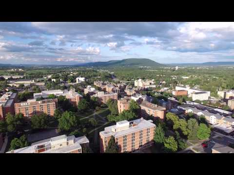 Aerial tour of Penn State - University Park