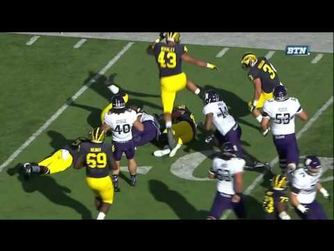 2015 Michigan Football highlights v.  Northwestern