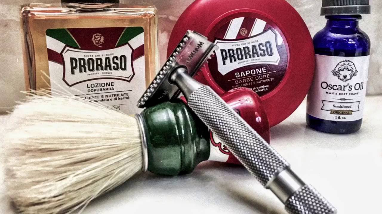 new proraso red aftershave gillette wilkinson sword 13th shave and