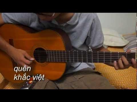 Quên - Khắc Việt - Guitar Fingerstyle