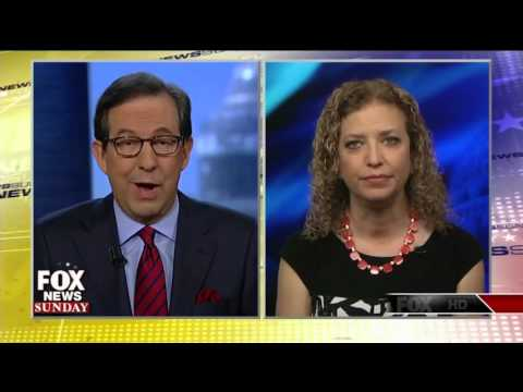 Debbie Wasserman Schultz stumbles while trying to defend Clinton email scandal