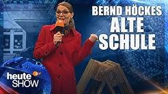 Tina Hausten berichtet live von Bernd Höckes alter Schule | heute-show vom 17.02.2017