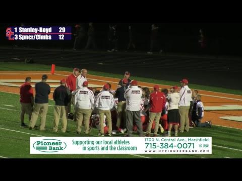 Spencer/Columbus Football vs Stanley-Boyd