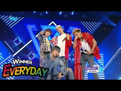 [Comeback Stage] WINNER - EVERYDAY, 위너 - 에브리데이 Show Music core 20180414