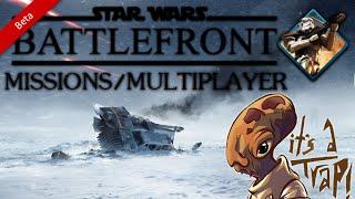 ★Star Wars Battlefront - MULTIPLAYER/MISSIONS GAMEPLAY Walker Assault ( HD PC Gameplay)★