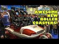 Awesome NEW Roller Coaster & Ride Vehicles Revealed at IAAPA Amusement Park Trade Show 2017