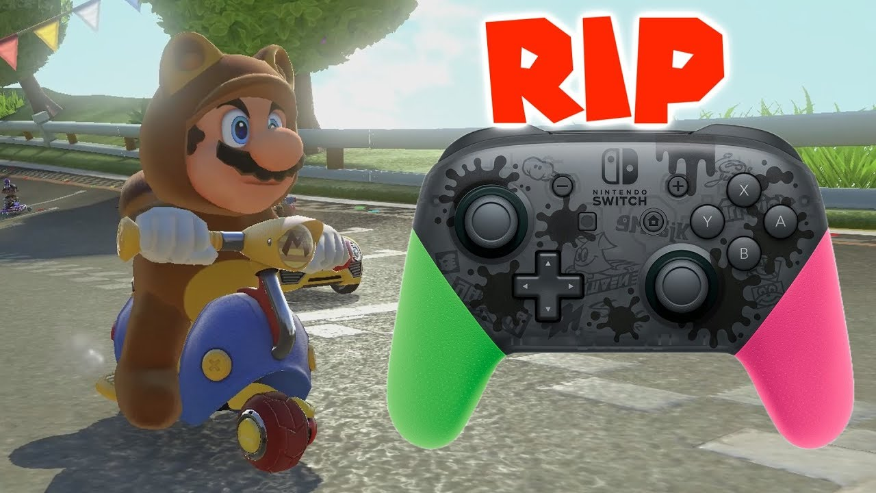 Mario Kart 8 Deluxe When A Switch Pro Controller Dies