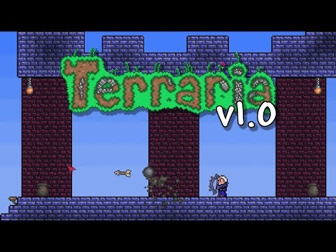 Playing Terraria 1.0 in 2020... to kill time until 1.4 Journeyu0027s End