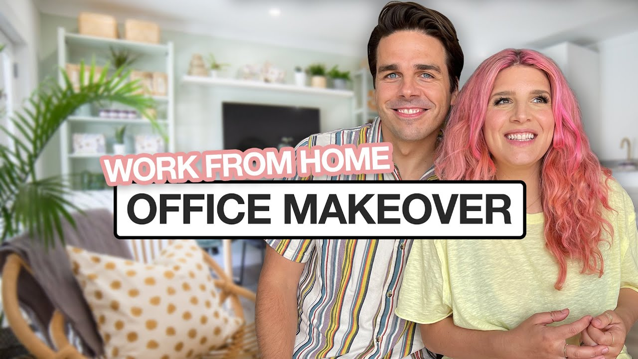 Ultimate Work From Home Office Makeover!