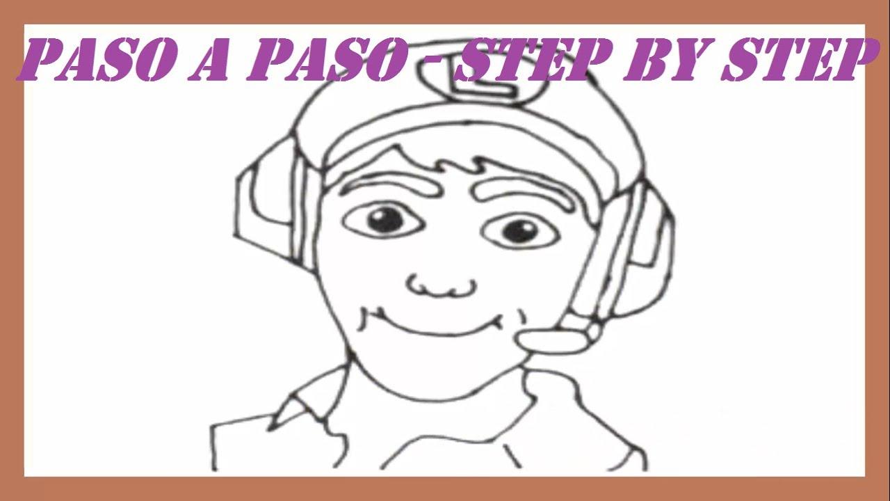 Como Dibujar A Fernanfloo Paso A Paso L How To Draw