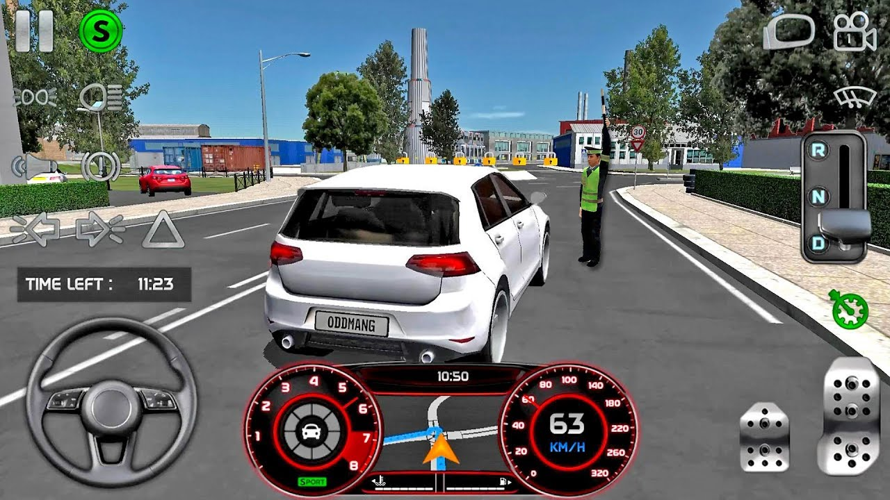 Real Driving Games >> Real Driving Sim 4 Timer Speed Mission Car Games Android Gameplay