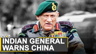 We will not accept any shift in LAC: Indian General Bipin Rawat | India China Military talks