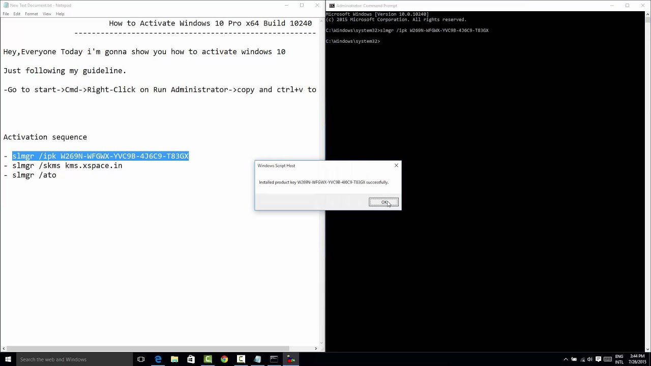 100 working how to activate windows 10 pro x64 build 10240 easy 100 working how to activate windows 10 pro x64 build 10240 easy ccuart Images
