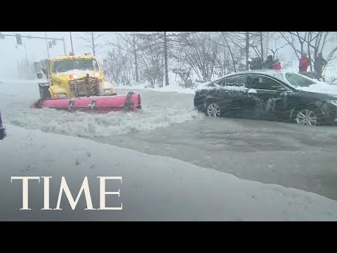 Bomb Cyclone Winter Storm Slams Eastern U.S., Thousands Of Flights Cancelled | TIME