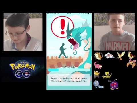 Pokemon Go Caerffili Mathew ac Alex || CYMRAEG