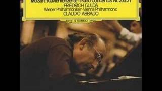 Mozart piano concerto No. 21/2 Gulda-Abbado