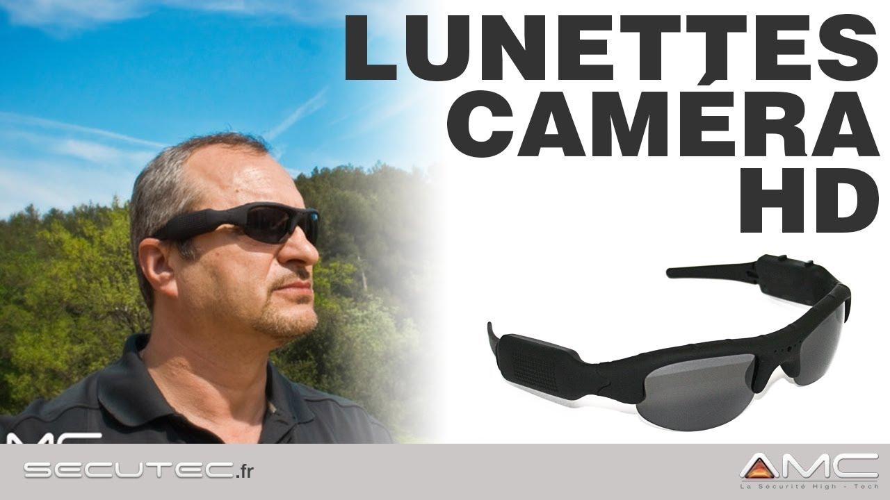LUNETTES CAMERA SPORT HD 720P  SECUTEC.FR  - YouTube 9cdb71548d6f