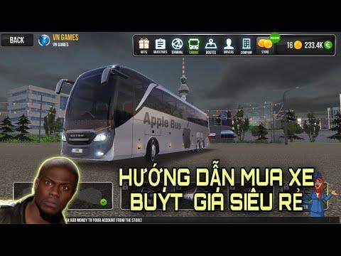 Hướng dẫn cài đặt game và mua xe giá rẻ trong Bus Simulator    Ultimate - Trò chơi trên điện thoại