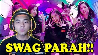 SWAG PARAH!!! - ITZY - Dalla Dalla [MV] Reaction - Indonesia