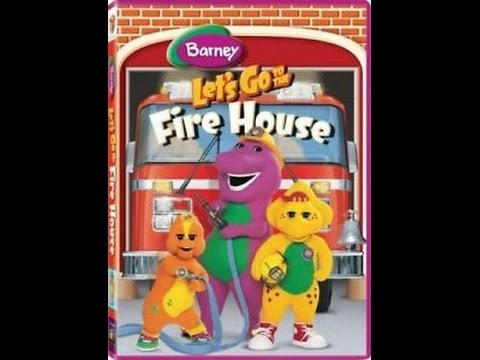 Opening & Closing To Barney:Let's Go To The Firehouse 2007 DVD