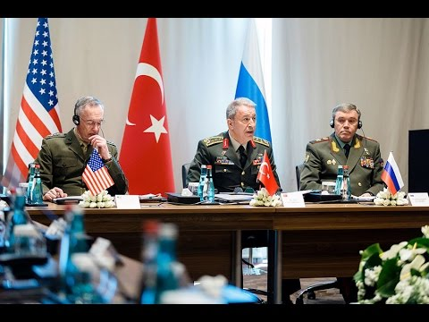 Russian, Turkish, US military chiefs meet in Antalya to discuss Syria, Iraq