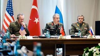 Russian, Turkish, US military chiefs meet in Antalya to discuss Syria, Iraq