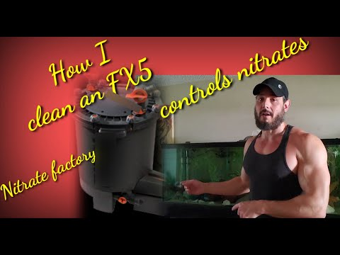 How to clean an FX6/FX5 canister filter