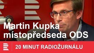 Martin Kupka z ODS: S Václavem Klausem mladším máme protichůdné názory